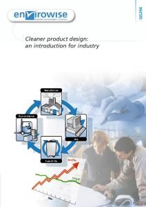 Cleaner product design