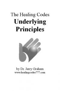 Click Here - The Healing Codes: Underlying Principles