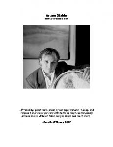 Click here to download PDF - Arturo Stable