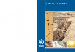 Climate and Land Degradation - The World AgroMeteorological