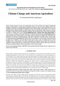 Climate Change and American Agriculture https://www.researchgate.net/.../Climate-Change-and-American-Agriculture.pdf