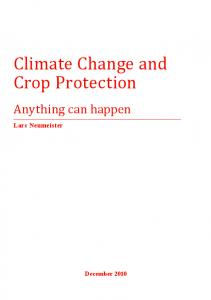 Climate Change and Crop Protection - RAPAL - Uruguay