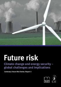 Climate change and energy security - CII