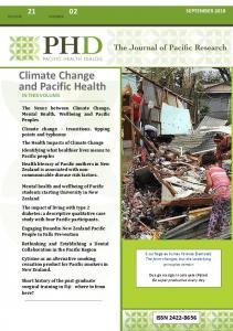 Climate Change and Pacific Health