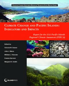 climate change and pacific islands: indicators and ...