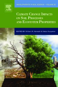 Climate Change Impacts on Soil Processes and