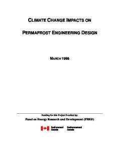 Climate Change Impacts on