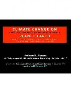 climate change on