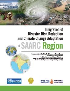 Climate Change - SAARC Disaster Management Centre
