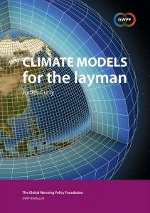 Climate Models for the Layman - The Global Warming Policy Foundation