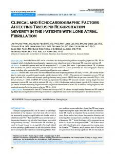 Clinical and Echocardiographic Factors Affecting