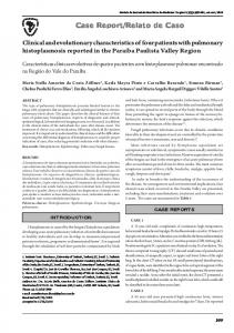 Clinical and evolutionary characteristics of four patients with ...