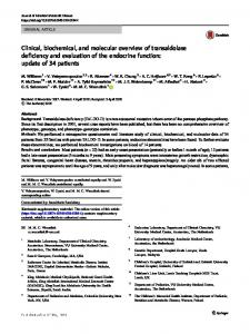 Clinical, biochemical, and molecular overview of ... - Springer Link