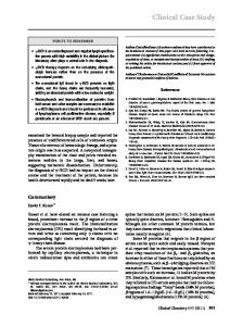 Clinical Case Study - Clinical Chemistry