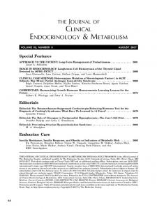 clinical endocrinology & metabolism