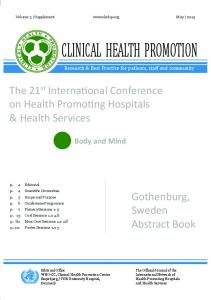clinical health promotion
