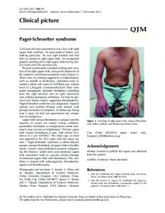 Clinical picture - Oxford Journals - Oxford University Press