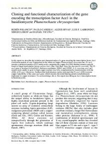 Cloning and functional characterization of the gene encoding the ...