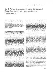 Close Correlation with Neuroendocrine - Europe PMC