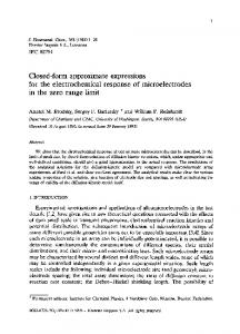 Closed-form approximate expressions for the ... - Science Direct