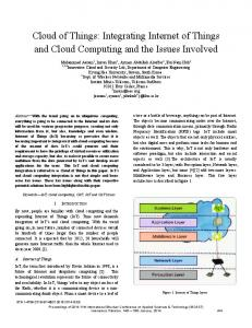 Cloud of Things: Integrating Internet of Things and Cloud Computing ...