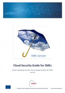 Cloud Security Guide for SMEs - enisa - Europa EU