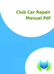 Chilton repair manual 2003 chevy cavalier productmanualguide club car repair manual pdf productmanualguide fandeluxe Images