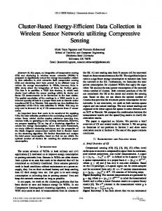 Cluster-Based Energy-Efficient Data Collection in ... - IEEE Xplore