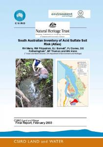 CLW Technical Report Cover - Land and Water