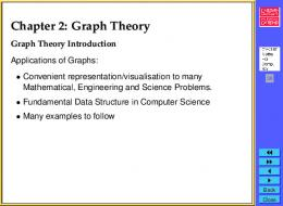 CM0167 Chapter 2: Graph Theory Part 1