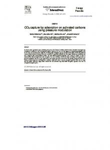 CO2 capture by adsorption on activated carbons