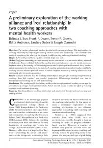 CoAChinG - Accept and Change
