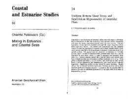 Coastal and Estuarine Studies