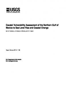 Coastal Vulnerability Assessment of the Northern Gulf of Mexico to ...