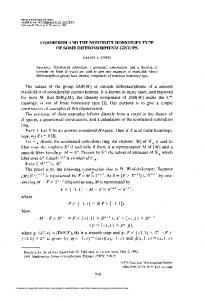 COBORDISM AND THE NONFINITE HOMOTOPY TYPE OF SOME ...