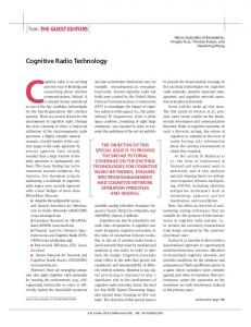 Cognitive Radio Technology - IEEE Xplore