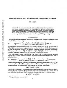 Cohomological Hall algebras and character varieties