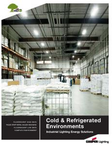 Cold & Refrigerated Environments Brochure