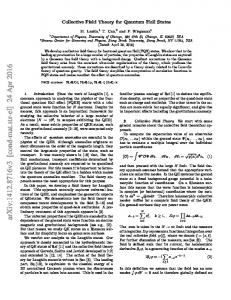 Collective Field Theory for Quantum Hall States