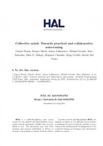 Collective mind: Towards practical and
