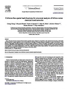 Collision-free spatial hash functions for structural ... - Semantic Scholar