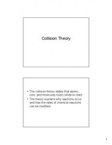 Collision Theory - Libby-teach.net