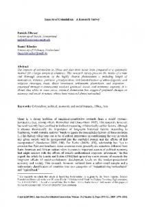 Colonialism, political, economic and social impacts, Africa, Asi