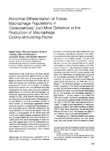 Colony-stimulating Factor - Europe PMC