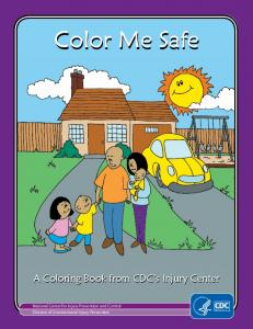 Color Me Safe Coloring Book