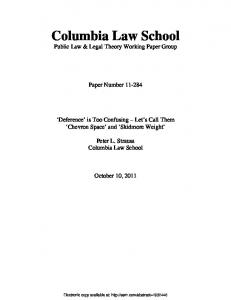 Columbia Law School - SSRN papers
