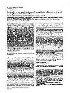 Combination of atorvastatin and celecoxib ... - Wiley Online Library
