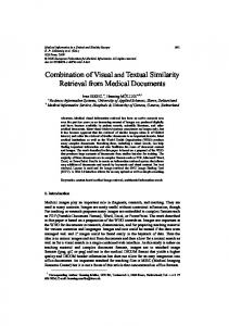 Combination of Visual and Textual Similarity Retrieval from Medical ...