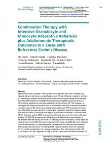 Combination Therapy with Intensive Granulocyte and ...