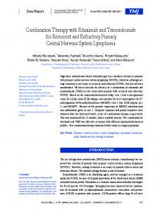 Combination Therapy with Rituximab and